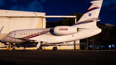 N181GD - Dassault Falcon 2000 - Private