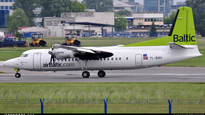 YL-BAV - Fokker 50 - Air Baltic