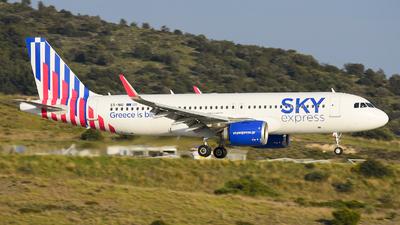 A picture of SXNIG - Airbus A320251N - Sky Express - © Alex Maras