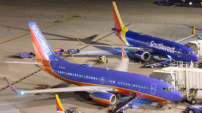 N7704B - Boeing 737-7BD - Southwest Airlines