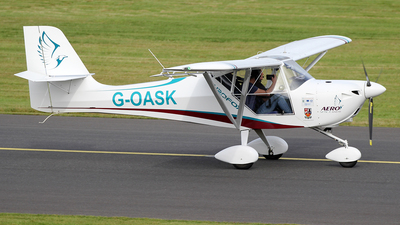 G-OASK - Aeropro Eurofox 912(S) - Aerospace Kinross