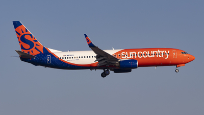 N838SY - Boeing 737-86N - Sun Country Airlines