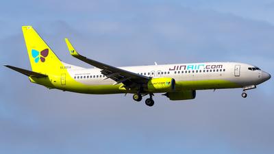 HL8014 - Boeing 737-8SH - Jin Air