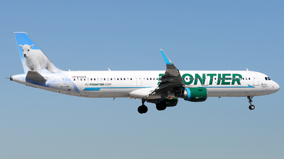 A picture of N722FR - Airbus A321211 - Frontier Airlines - © Alexander Portas