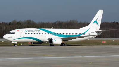 A picture of TCTLE - Boeing 7374Q8 - Tailwind Airlines - © Stephan Wagner