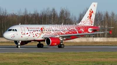 VQ-BCP - Airbus A319-112 - Rossiya Airlines
