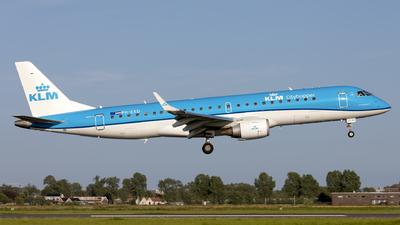 A picture of PHEXD - Embraer E190STD - KLM - © Kris Van Craenenbroeck