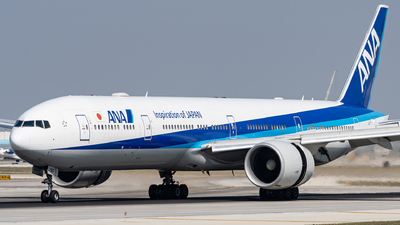 A picture of JA790A - Boeing 777381(ER) - All Nippon Airways - © Haocheng Fang