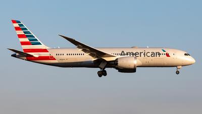 A picture of N806AA - Boeing 7878 Dreamliner - American Airlines - © Sebastian Sowa