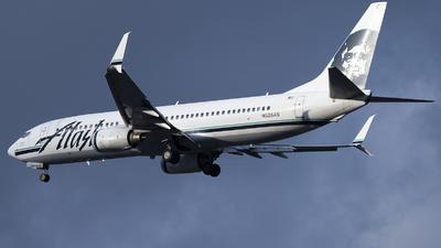 N528AS - Boeing 737-890 - Alaska Airlines