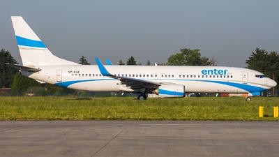 A picture of SPESF - Boeing 7378AS - Enter Air - © Adam Szczepkowski