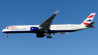 F-WZFS - Airbus A350-1041 - British Airways