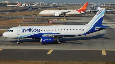 VT-INY - Airbus A320-232 - IndiGo Airlines