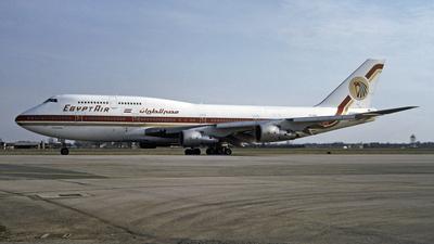 SU-GAM - Boeing 747-366(M) - EgyptAir