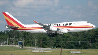 A picture of N708CK - Boeing 7474B5(BCF) - Kalitta Air - © Erik Goodfellow