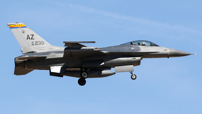 86-0239 - General Dynamics F-16C Fighting Falcon - United States - US Air Force (USAF)