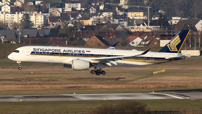 9V-SMZ - Airbus A350-941 - Singapore Airlines