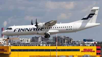 OH-ATN - ATR 72-212A(500) - Finnair (Nordic Regional Airlines NORRA)