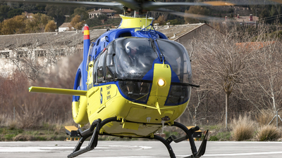 A picture of ECMPJ - Airbus Helicopters H135 T3 - Babcock MCS Espana - © Gustavo Cañamero