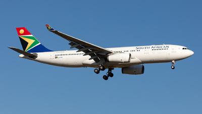 A picture of ZSSXU - Airbus A330243 - [1271] - © Sebastian Sowa