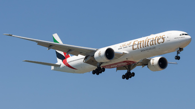 A6-EQM - Boeing 777-31HER - Emirates