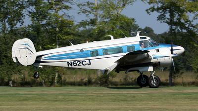 N62CJ - Beech H18 - Private