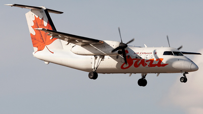 C-FPON - Bombardier Dash 8-102 - Air Canada Jazz