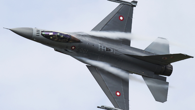 E-007 - General Dynamics F-16AM Fighting Falcon - Denmark - Air Force