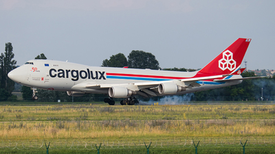LX-KCL - Boeing 747-4HAERF - Cargolux Airlines International