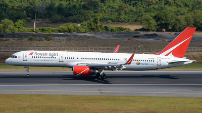 VQ-BTB - Boeing 757-28A - Royal Flight