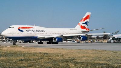 G-BNLF - Boeing 747-436 - British Airways
