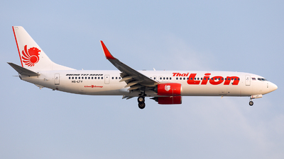 HS-LTY - Boeing 737-9GPER - Thai Lion Air