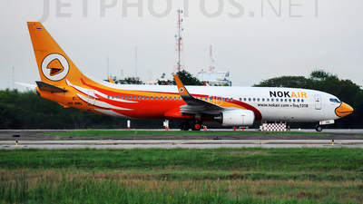 HS-DBL - Boeing 737-8AS - Nok Air