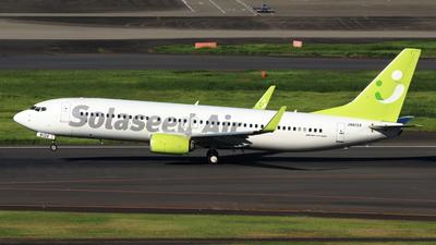 JA813X - Boeing 737-86N - Solaseed Air