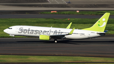 A picture of JA813X - Boeing 73786N - Solaseed Air - © NRT Spotter
