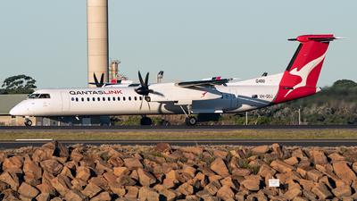 A picture of VHQOJ - De Havilland Canada Dash 8400 - QantasLink - © LuftTaube