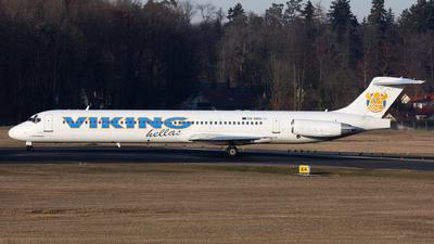 SX-SMS - McDonnell Douglas MD-83 - Viking Hellas Aviation