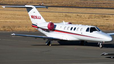 N928JJ - Cessna 525 Citationjet CJ2+ - Private