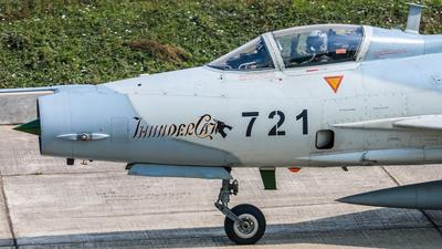 2721 - Chengdu F-7BGI - Bangladesh - Air Force