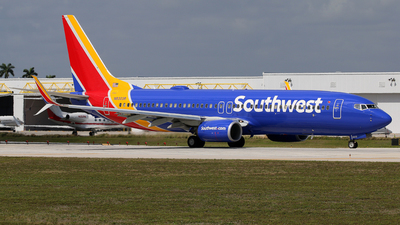 A picture of N8303R - Boeing 7378H4 - Southwest Airlines - © Brian T Richards