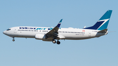 A picture of CFZRM - Boeing 7378CT - WestJet - © Scott Merriman