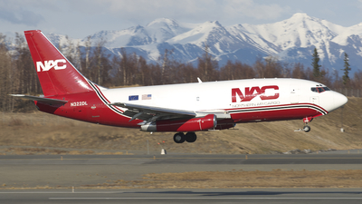 N322DL - Boeing 737-232(Adv)(F) - Northern Air Cargo (NAC)