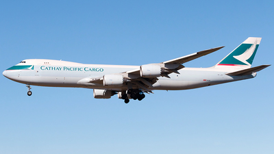 B-LJH - Boeing 747-867F - Cathay Pacific Cargo