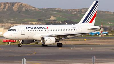 F-GUGA - Airbus A318-111 - Air France