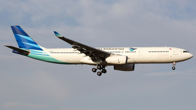 A picture of PKGPX - Airbus A330343 - Garuda Indonesia - © Wanping Chen