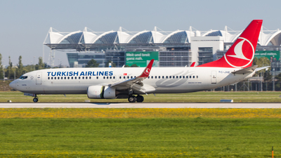 A picture of TCJVE - Boeing 7378F2 - Turkish Airlines - © TG Aviation Spotter