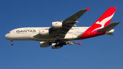 VH-OQD - Airbus A380-842 - Qantas