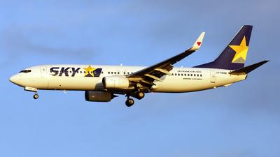 JA73NM - Boeing 737-81D - Skymark Airlines