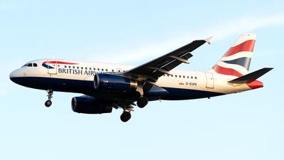 G-EUPE - Airbus A319-131 - British Airways