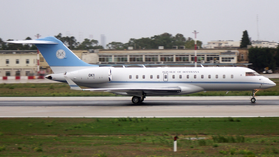 OK1 - Bombardier BD-700-1A10 Global Express XRS - Bostwana - Defence Force
